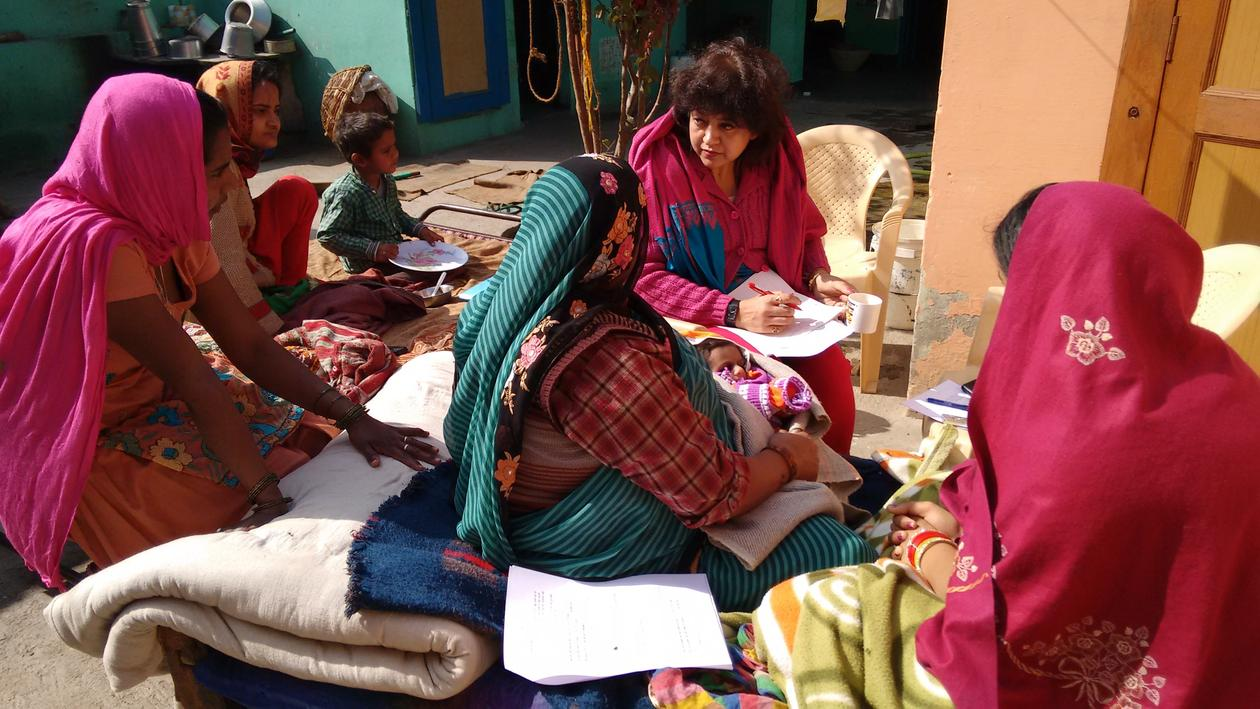 Kangaroo Mother Care CISMAC in India.