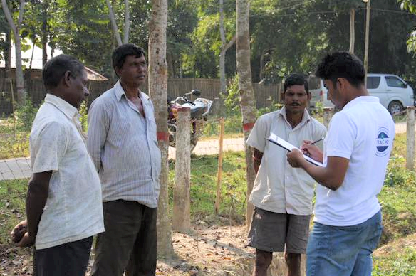 Interviews with the locals. Sylhet TRACKS project
