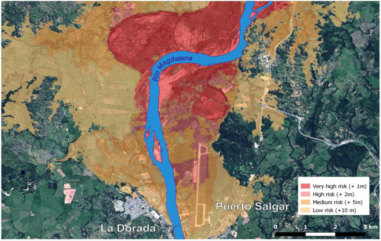 Márk Aguera assessed flood risk in the Colombian Amazon