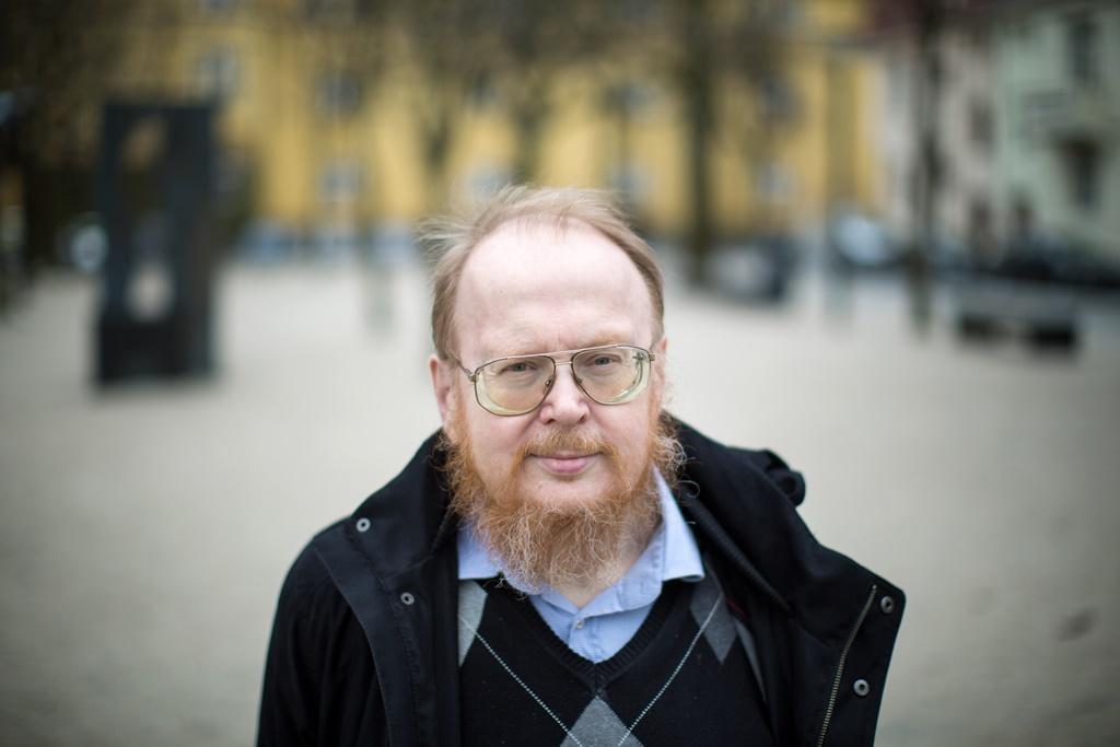 Portrettbilde av Knut Vikør