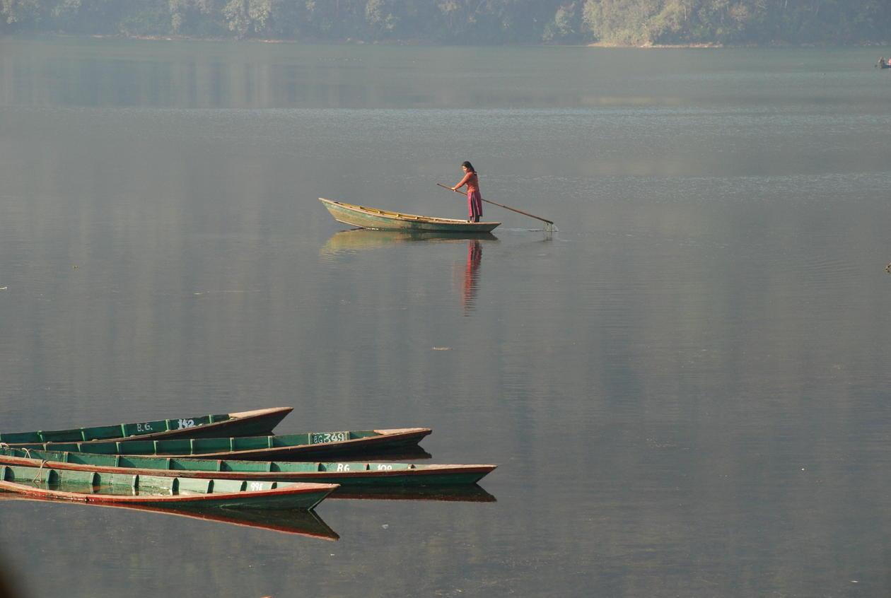 Phewa Tal, en stor ferskvannsressurs i hjertet av Nepal