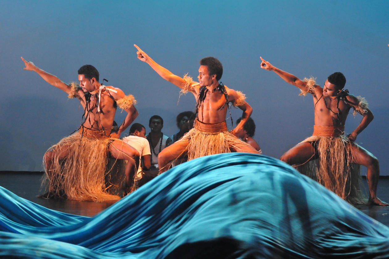 From the performance Moana: the Rising of the Sea at Oseana Art Centre in Os, south of Bergen, in 2015.