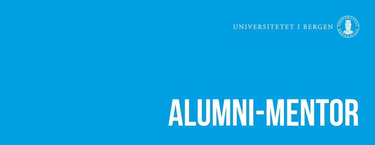 Alumni-mentor, grafisk bilde,