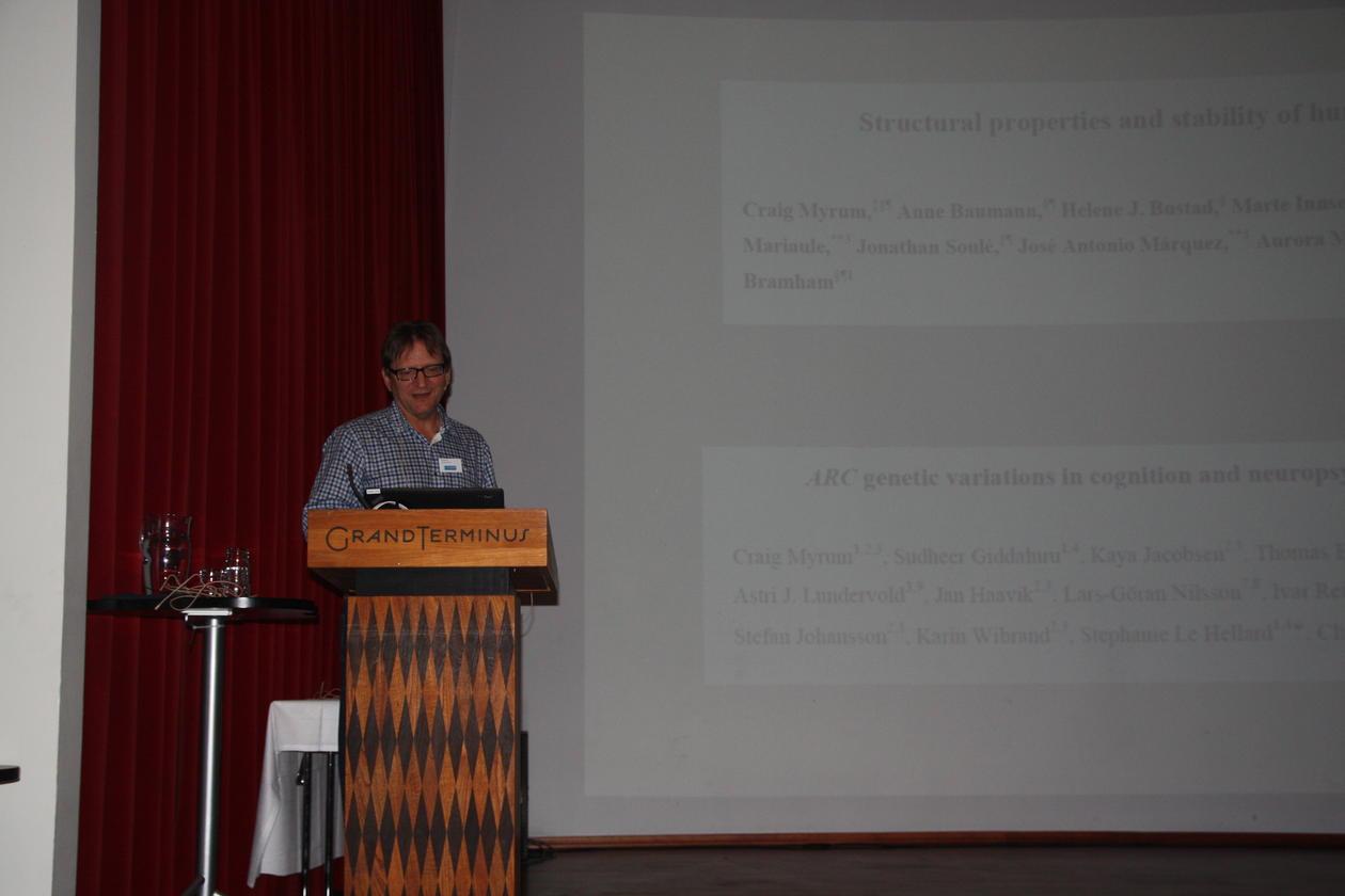 Clive Bramham, KGJN møtet 2014