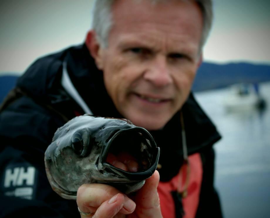 Anders Goksøyr med Fiskehode