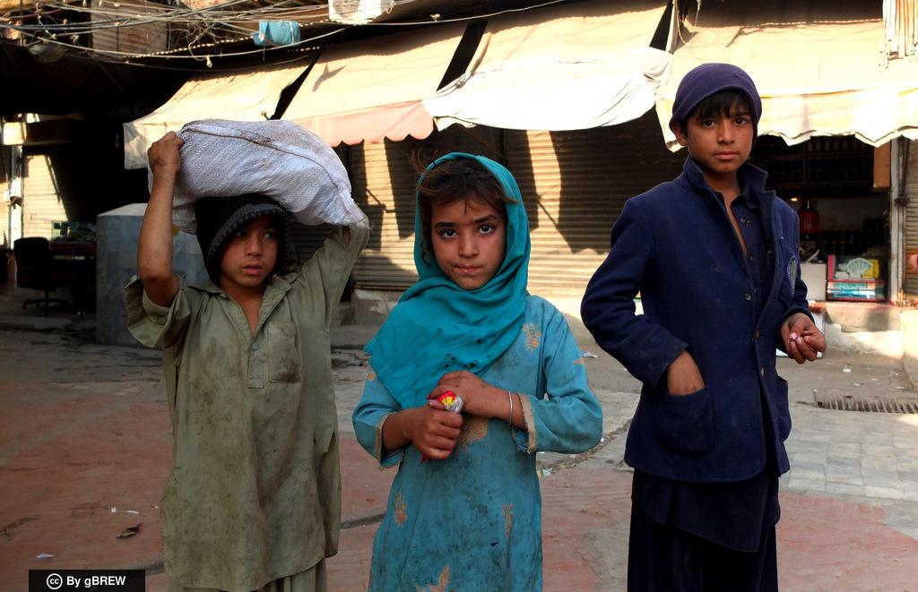 Children of Peshawar, Pakistan