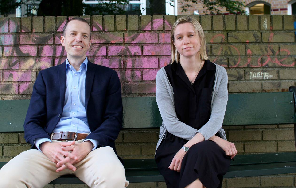 Hallvard Moe og Brita Ytre-Arne