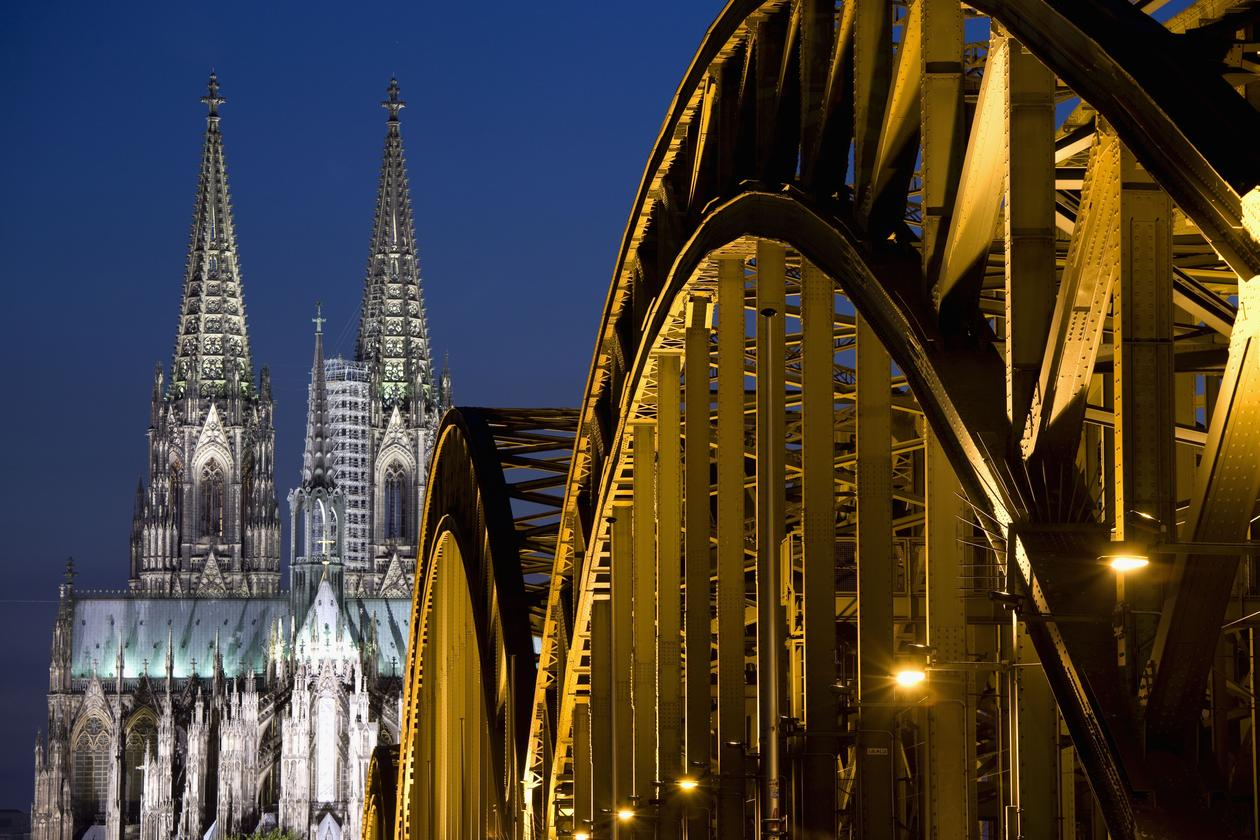 The Cologne Cathedral (Kölner Dom) in Cologne, North Rhine Westphalia, Germany, used to illustrate article about regional power in the EU.