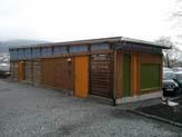 Sykkelhus ved HF-bygget