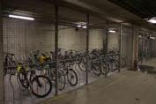 Sykkelparkering garasjen Realfagbygget