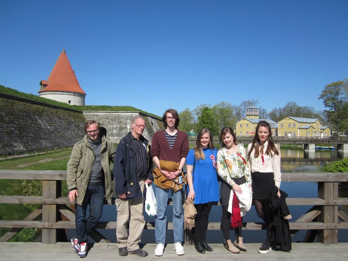 Bergen Group in Kuressaare 17.May 2014