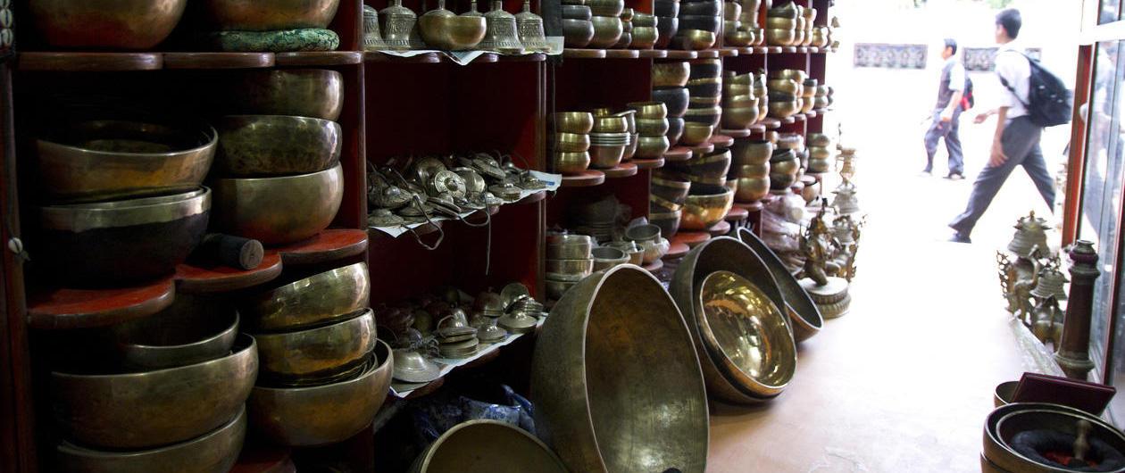 Syngeboller lages i Nepal