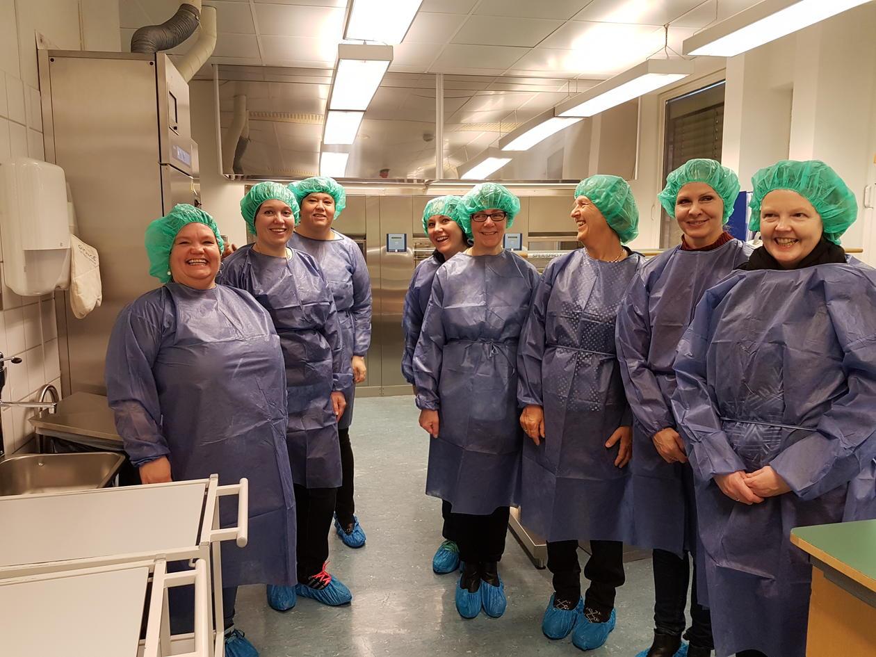 Besøk på sterilsentralen