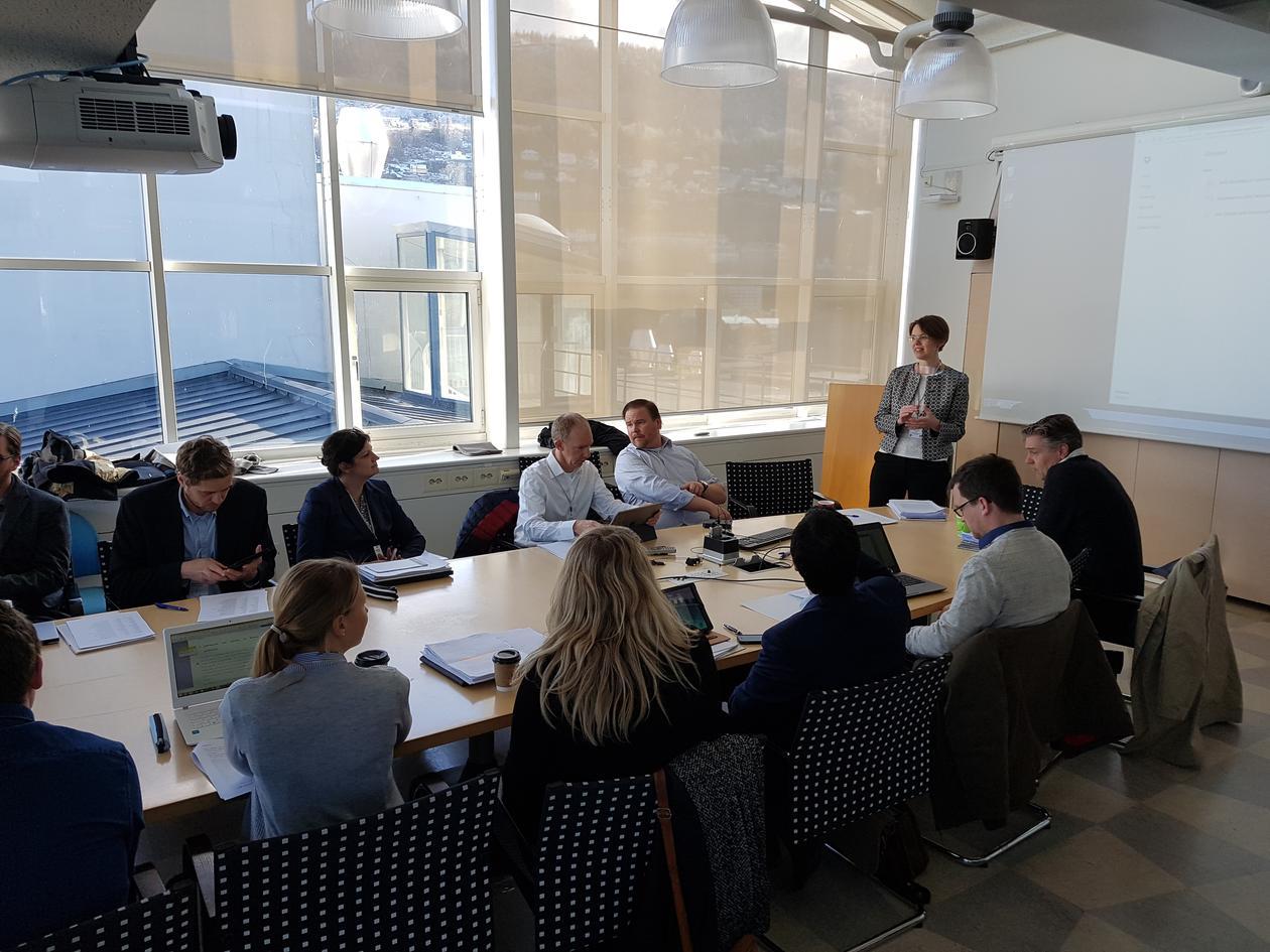 Ivarsflaten welcoming workshop participants