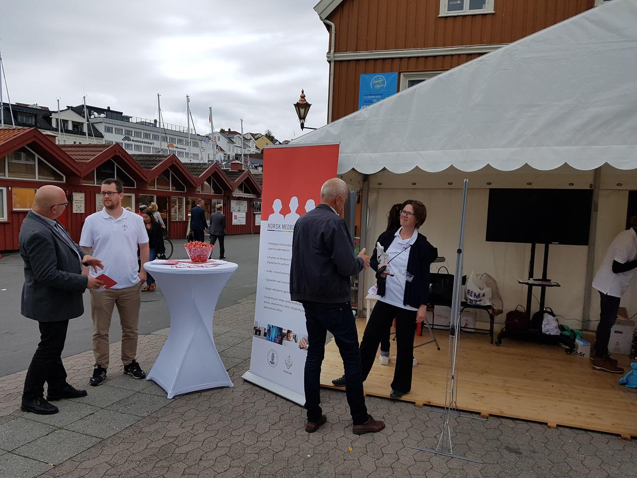 DIGSSCORE at Arendalsuka