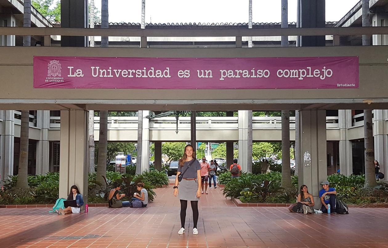 På campus