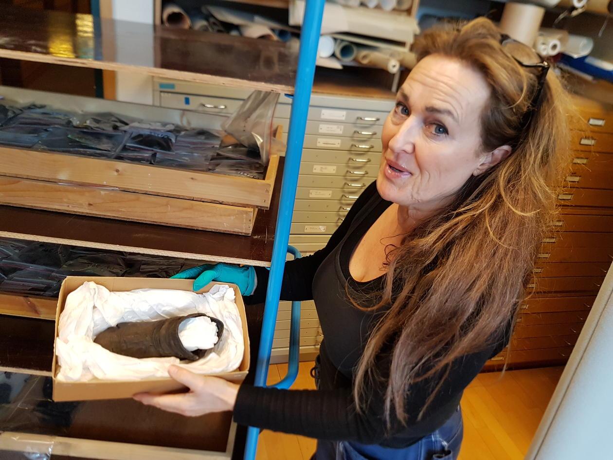 Heidi and the Borgund shoe
