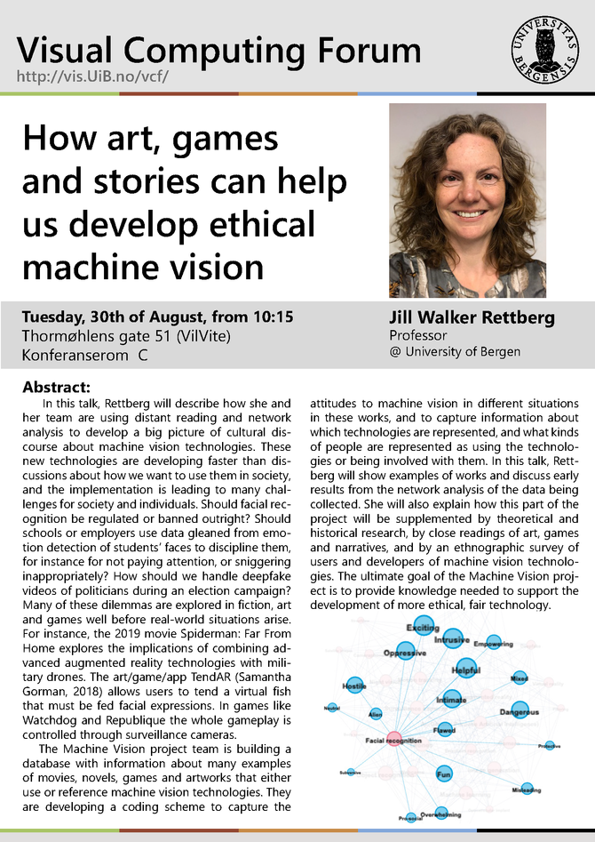 How art, games and stories can help us develop ethical machine vision