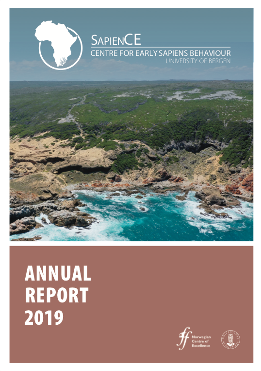 Annual report SapienCE cover 2019