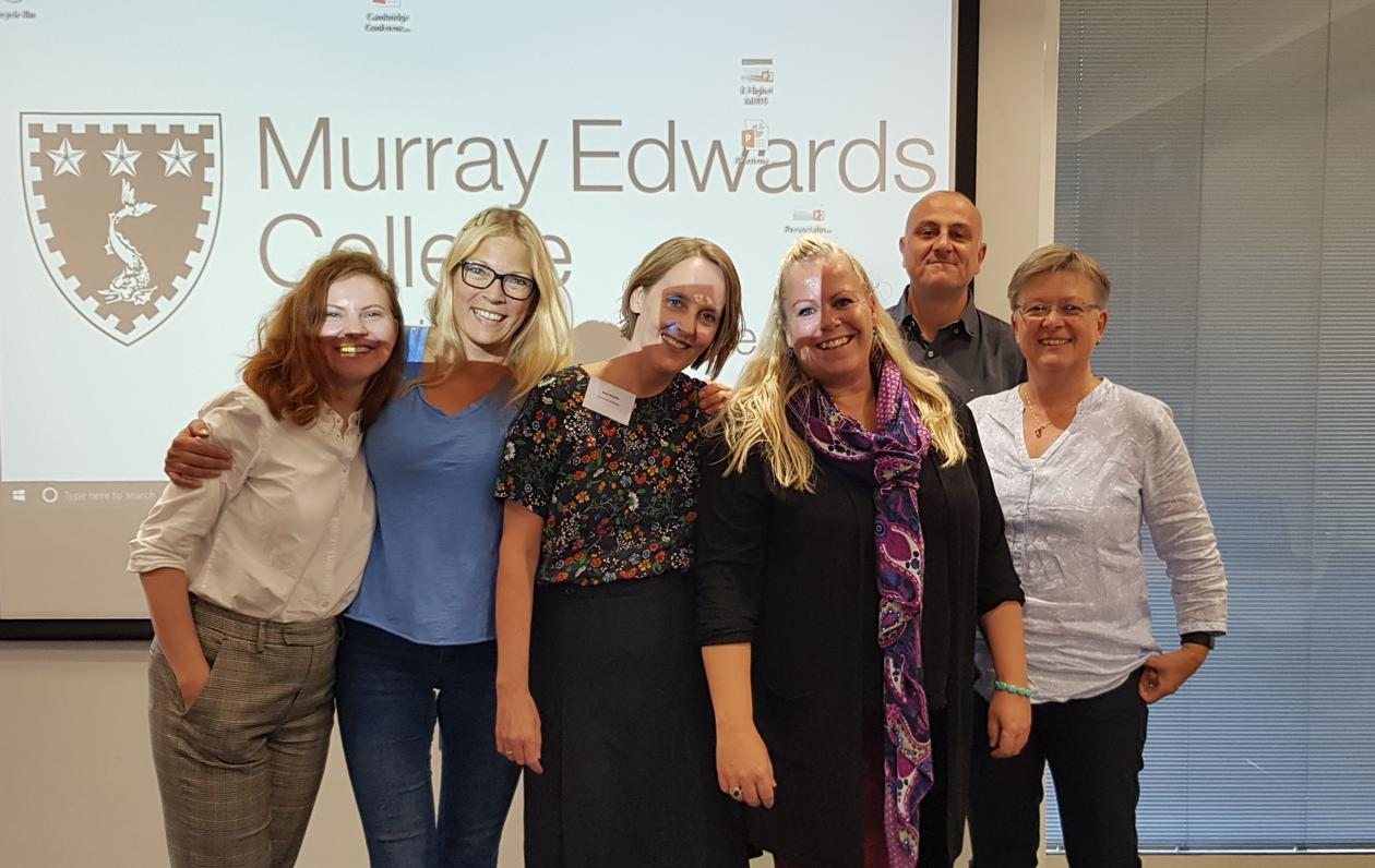 "The research group ""MoMM"" in Murray Edwards College"