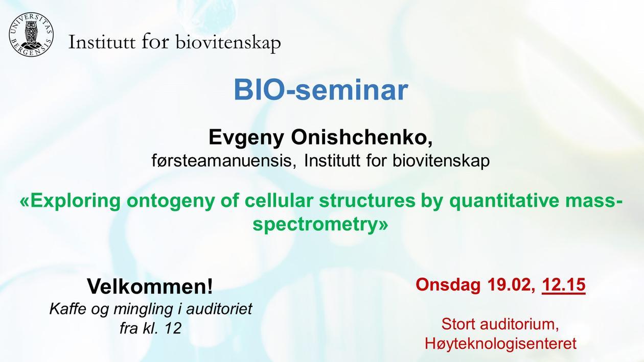 Posteroppslag om seminaret