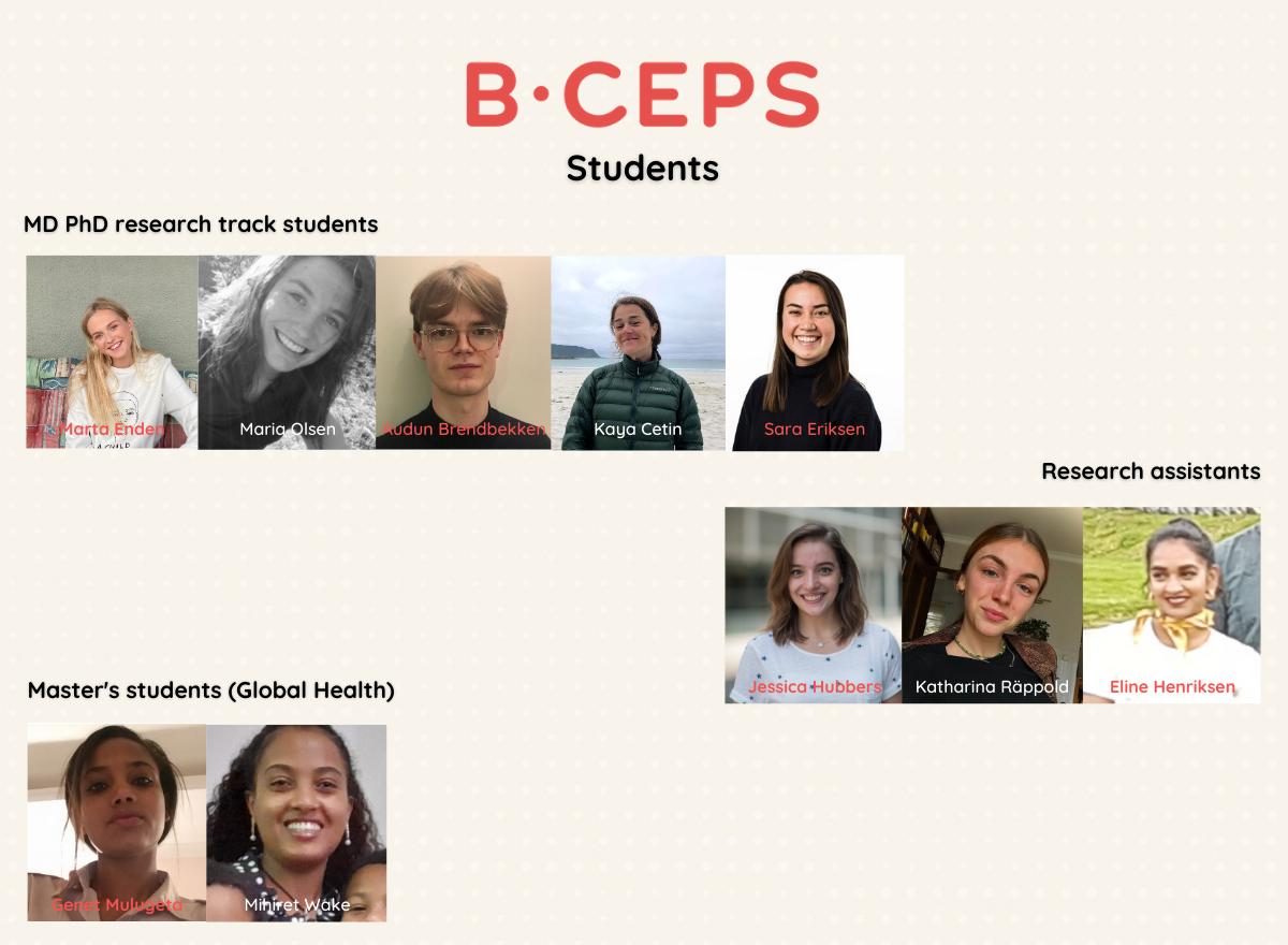 BCEPS students