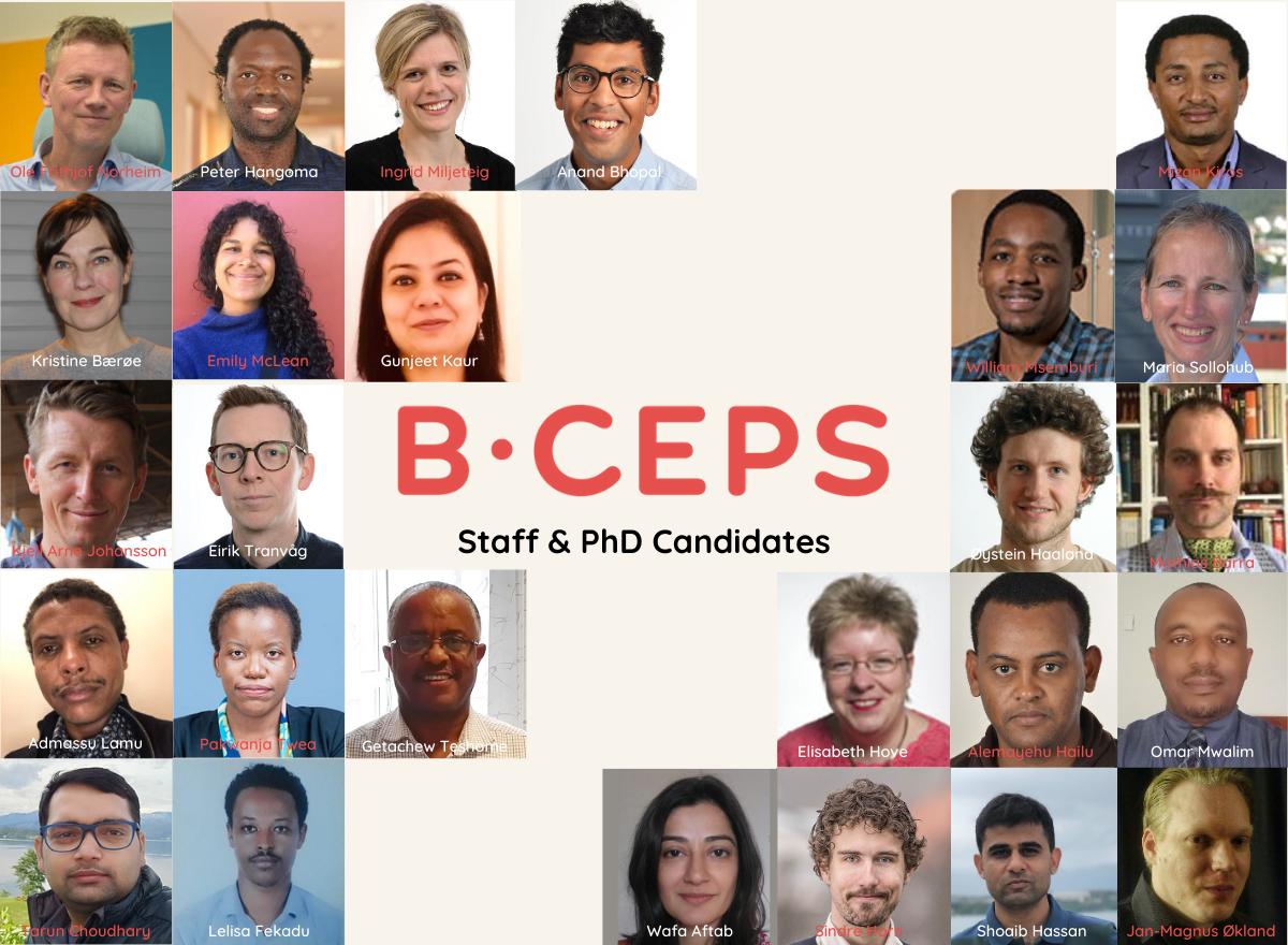 BCEPS staff & PhD candidates