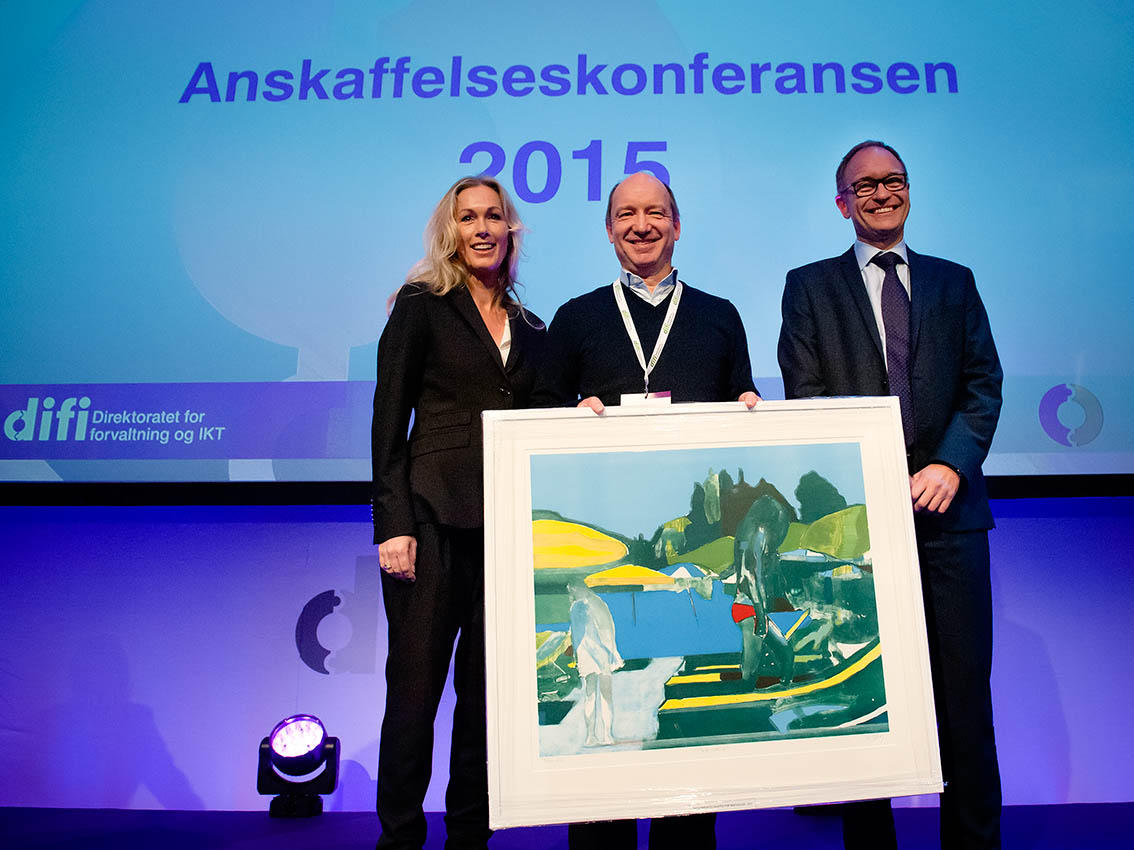 UiB was awarded the public procurement award for innovation