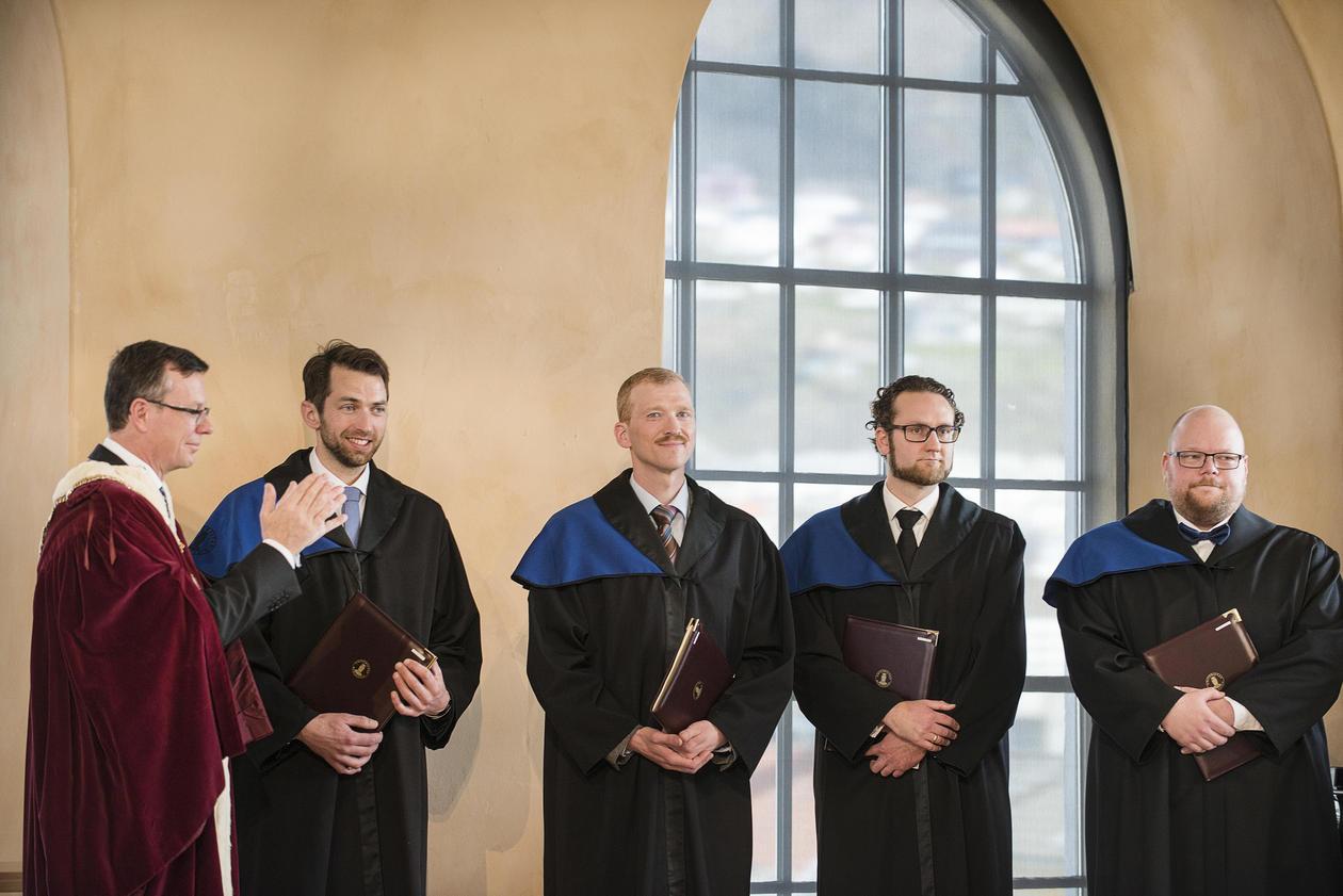 Doktorgradskandidater
