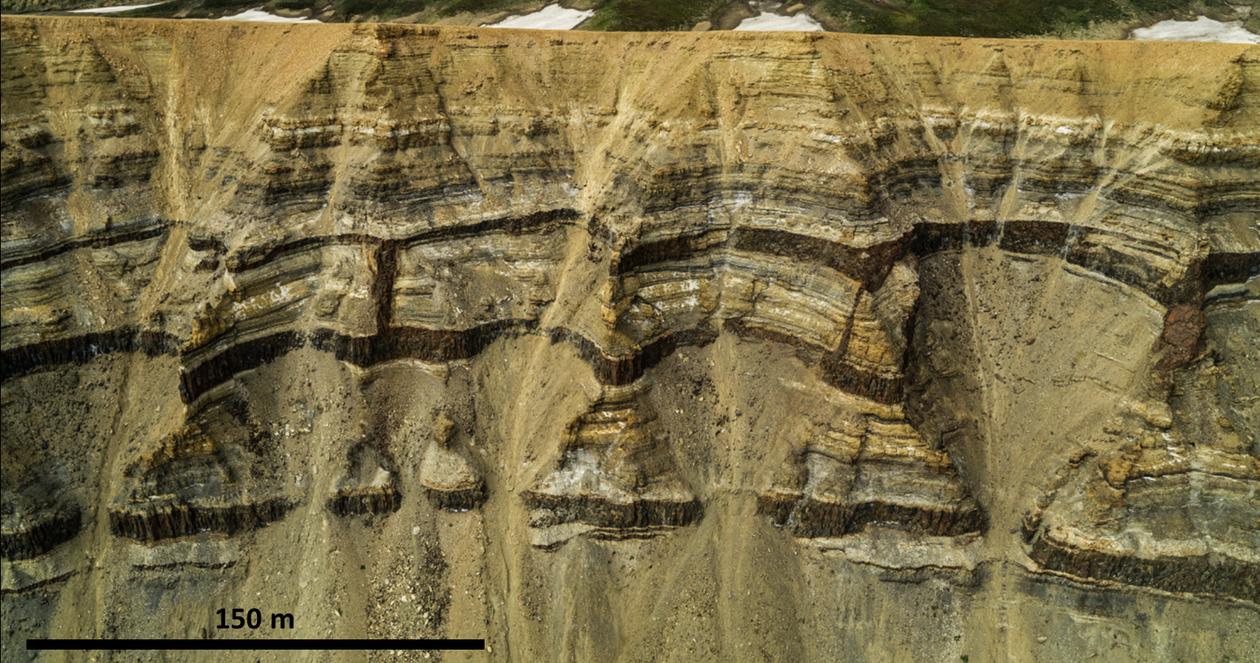 illustrasjon i sedimenter