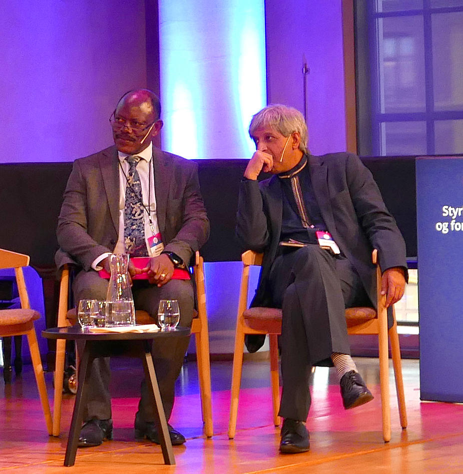 2 African Vice Chancellors