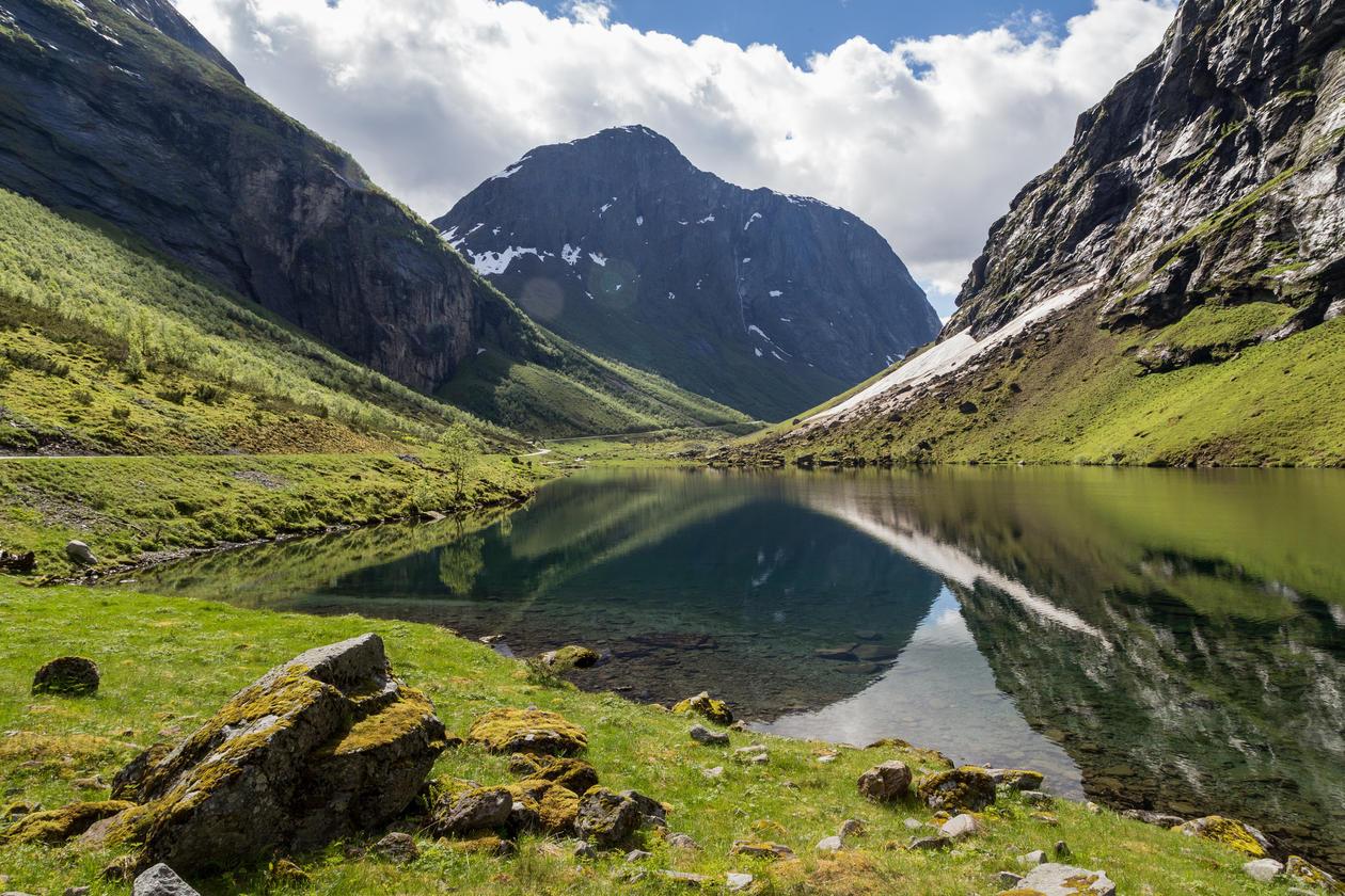 Illustrasjonsbilde norsk natur
