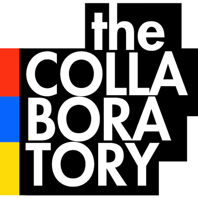 Logo with name The Collaboratory in black and white