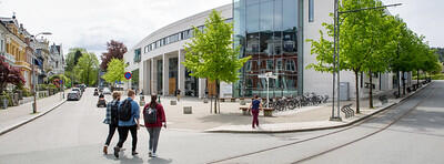 Picture of the student centre