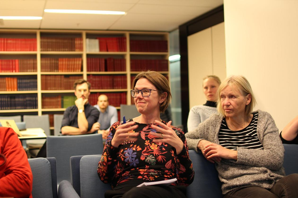Audience at FAIR seminar
