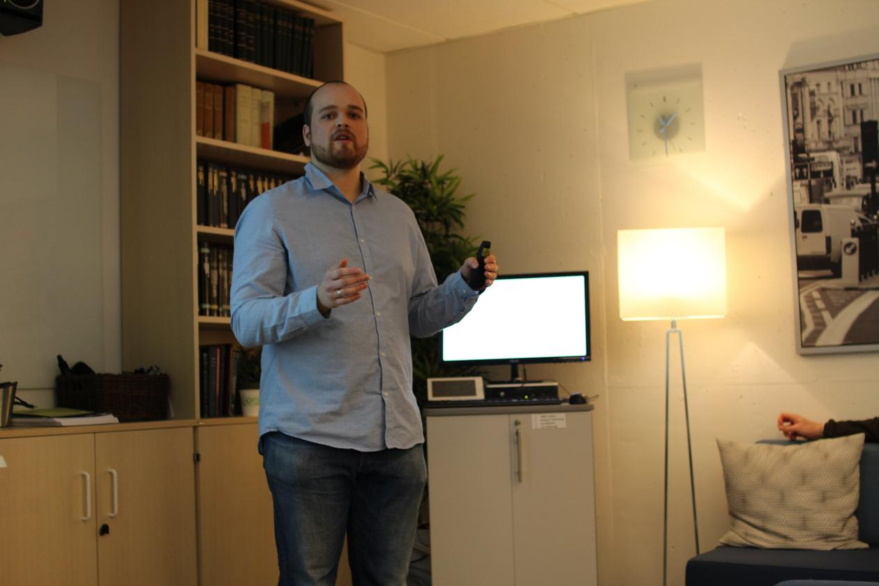 Strømland at FAIR seminar
