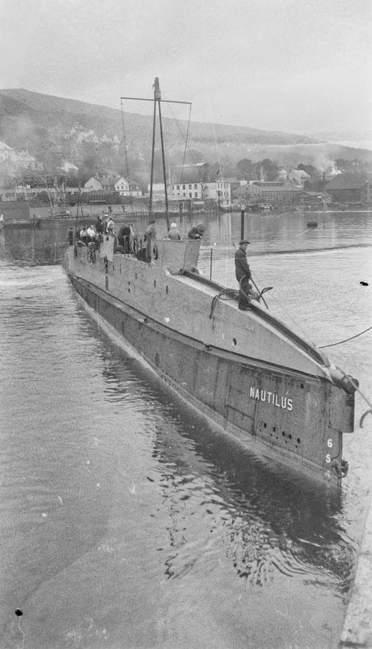 """NAUTILUS: Farkosten var oppkalt etter kaptein Nemos ubåt i """"En verdensomseiling under havet""""."""