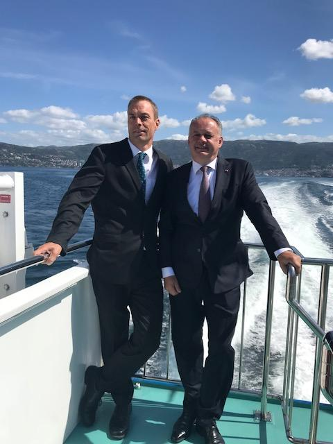 Tore Furevik and president Andrej Kiska