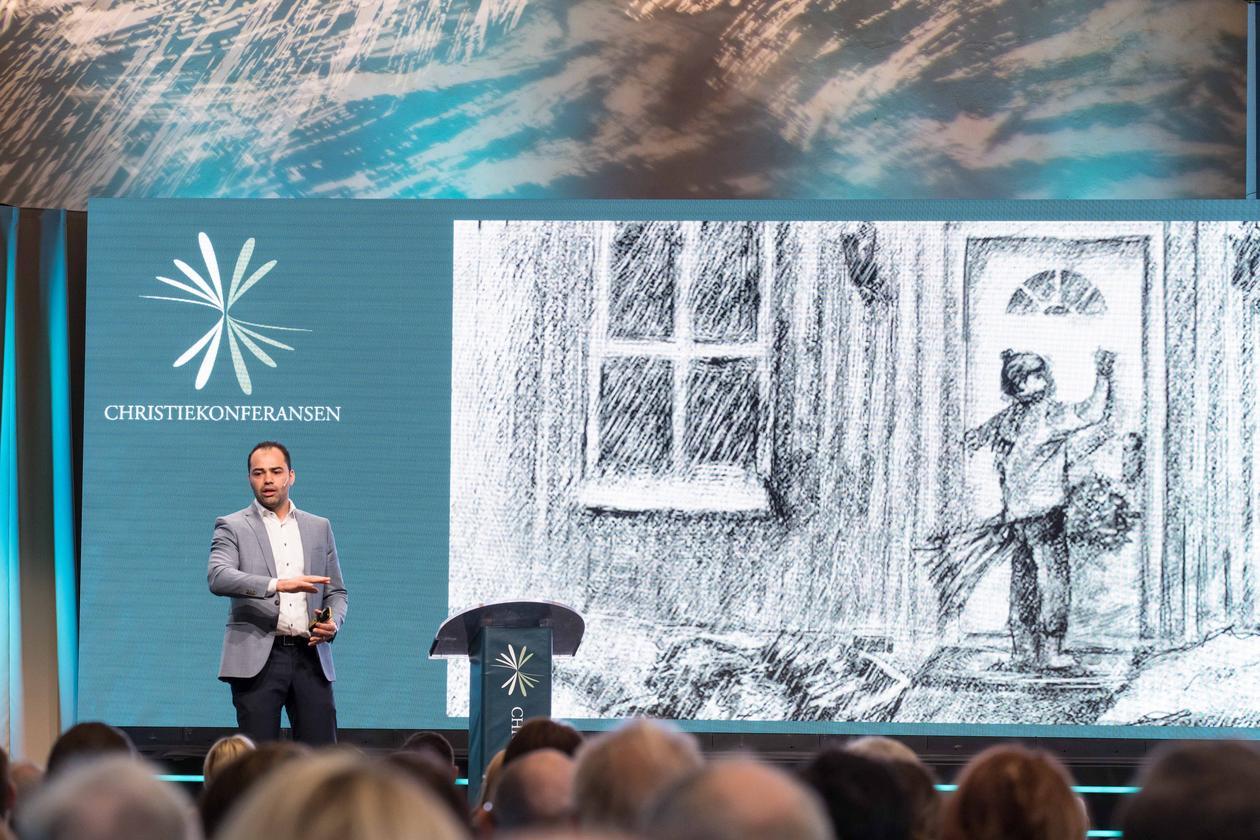 Aiman Shaqura, Christiekonferansen 2018