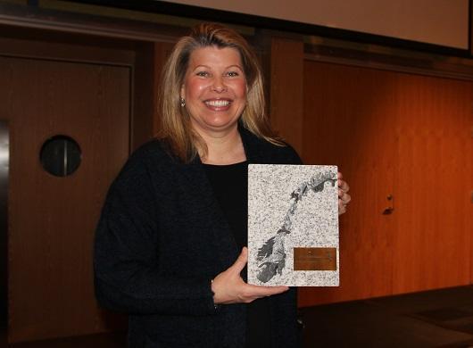 Prisvinner Kikki Kleiven - Toffenprisen