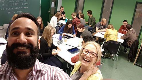 selfie fra poster workshop