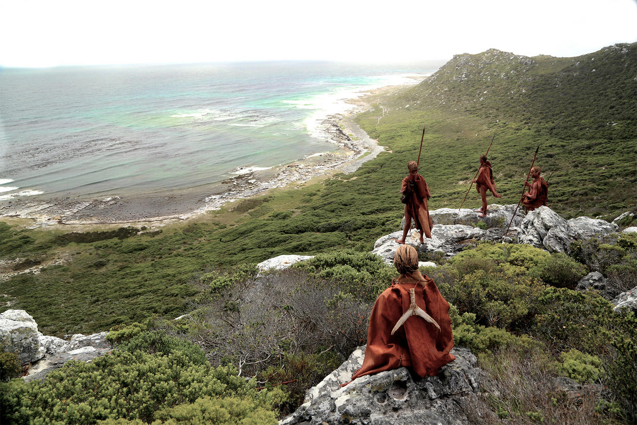 Mother Afica welcome home Exhibition from Blombos