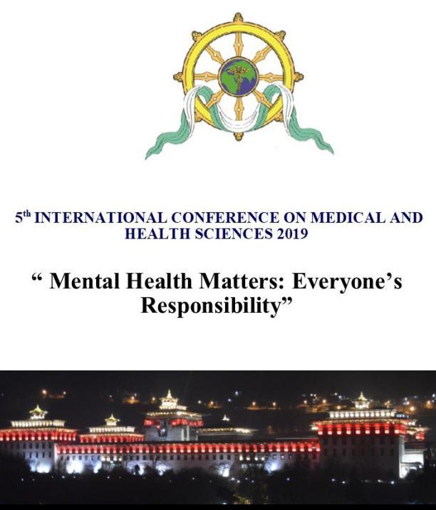 International Conference on Medical & Health Sciences 2019
