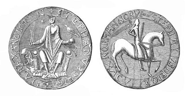 The seal of Stephen I of England