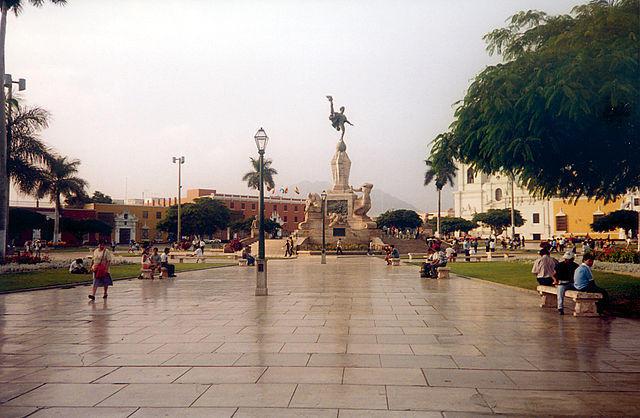 Photo: Plaza de Armas in Trujillo, La Libertad, Perú.
