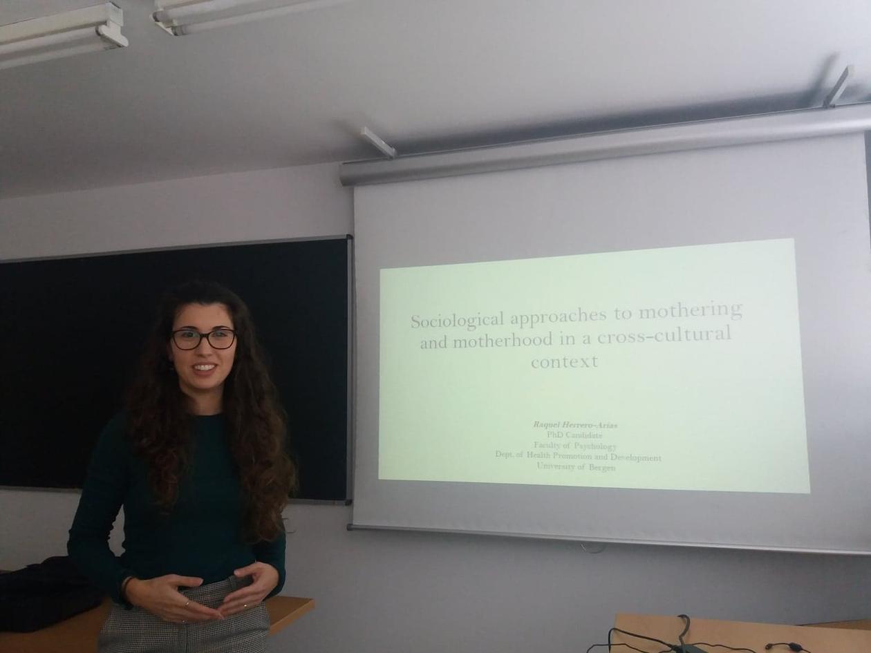 Seminar on Motherhood and Mothering by Raquel Herrero-Arias