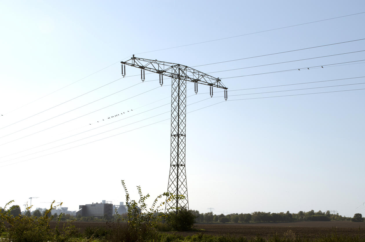 Power mast, illustration