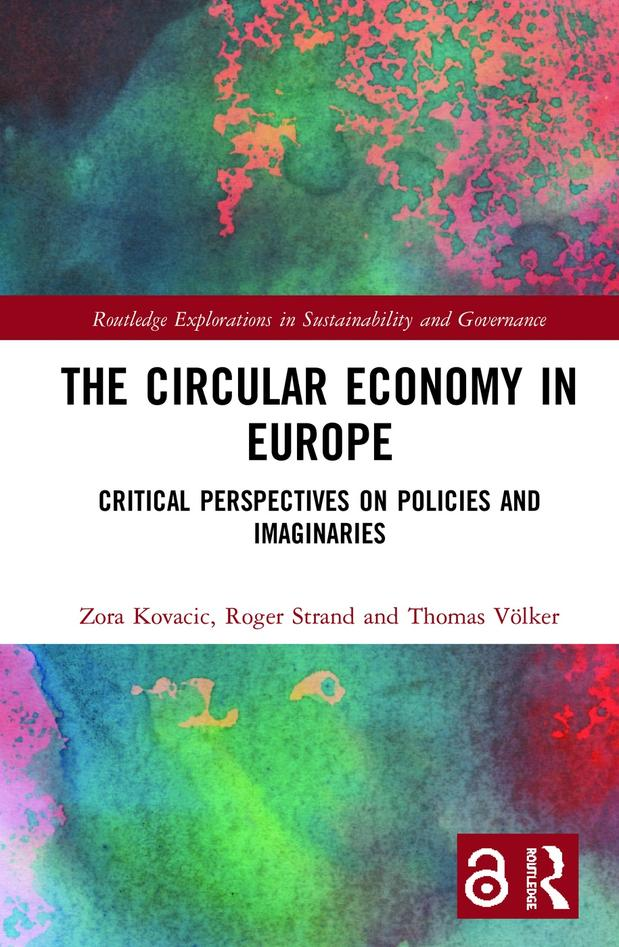 Book cover: The Circular Economy in Europe