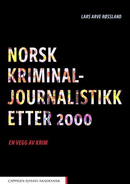 Bokomslag Norsk kriminaljournalistikk etter 2000