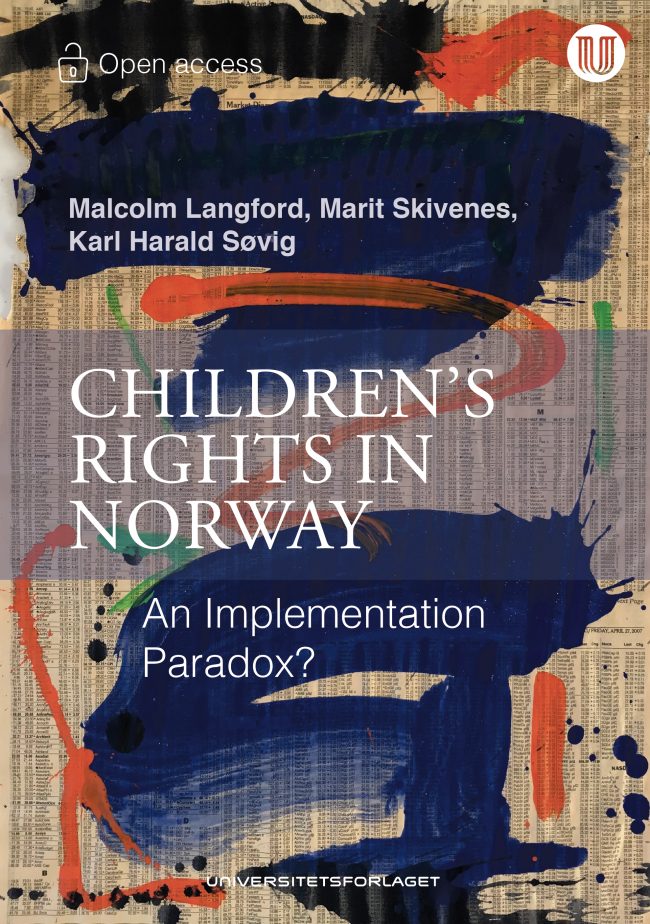 Book cover of Children's rights in Norway
